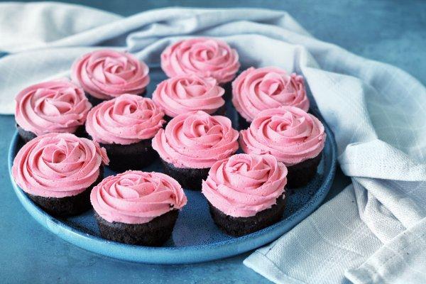 Chokolade Cupcakes Med Protein