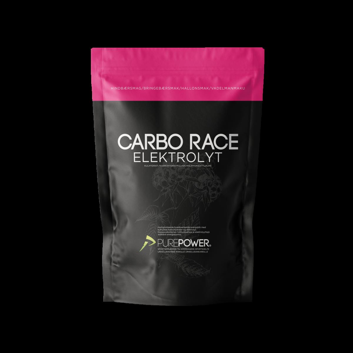 Carbo Race Elektrolyt Appelsin 1 kg | energidrik og pulver