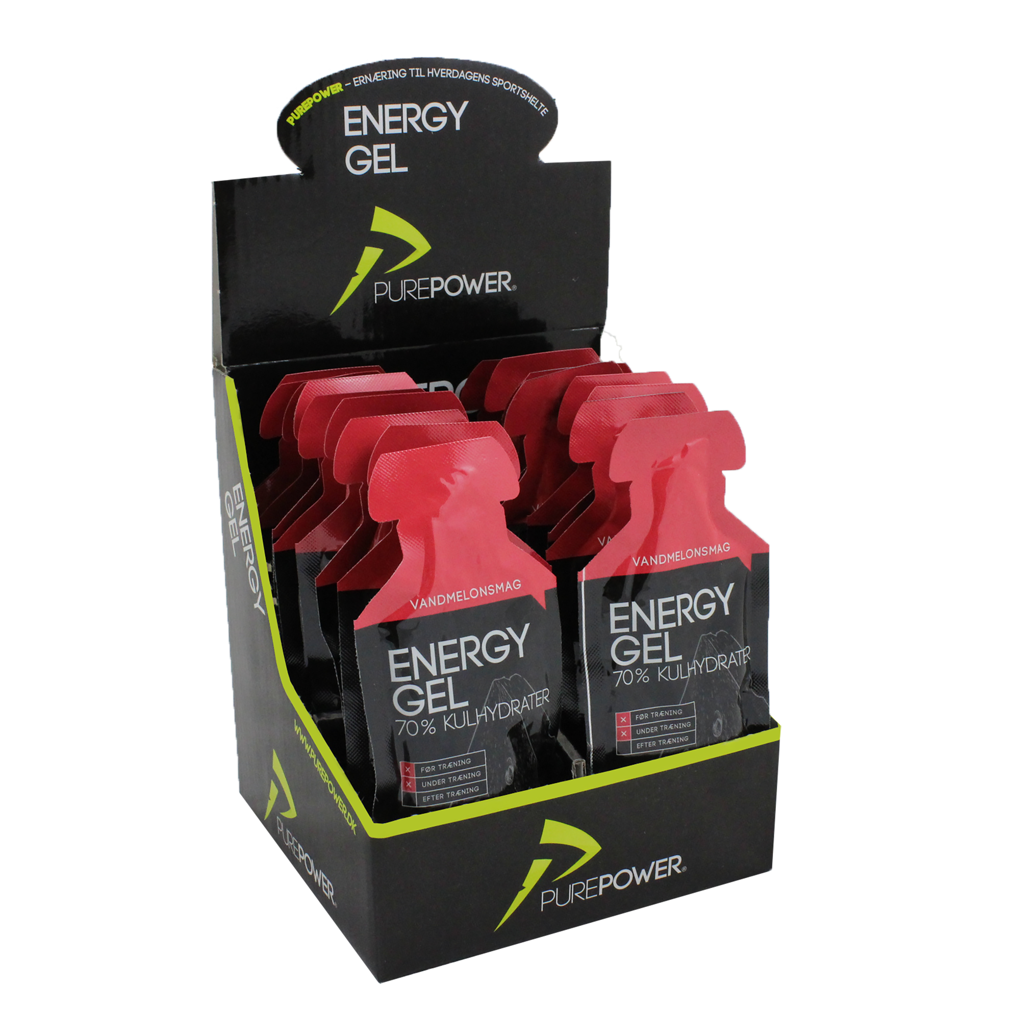 PurePower energigels fra PurePower