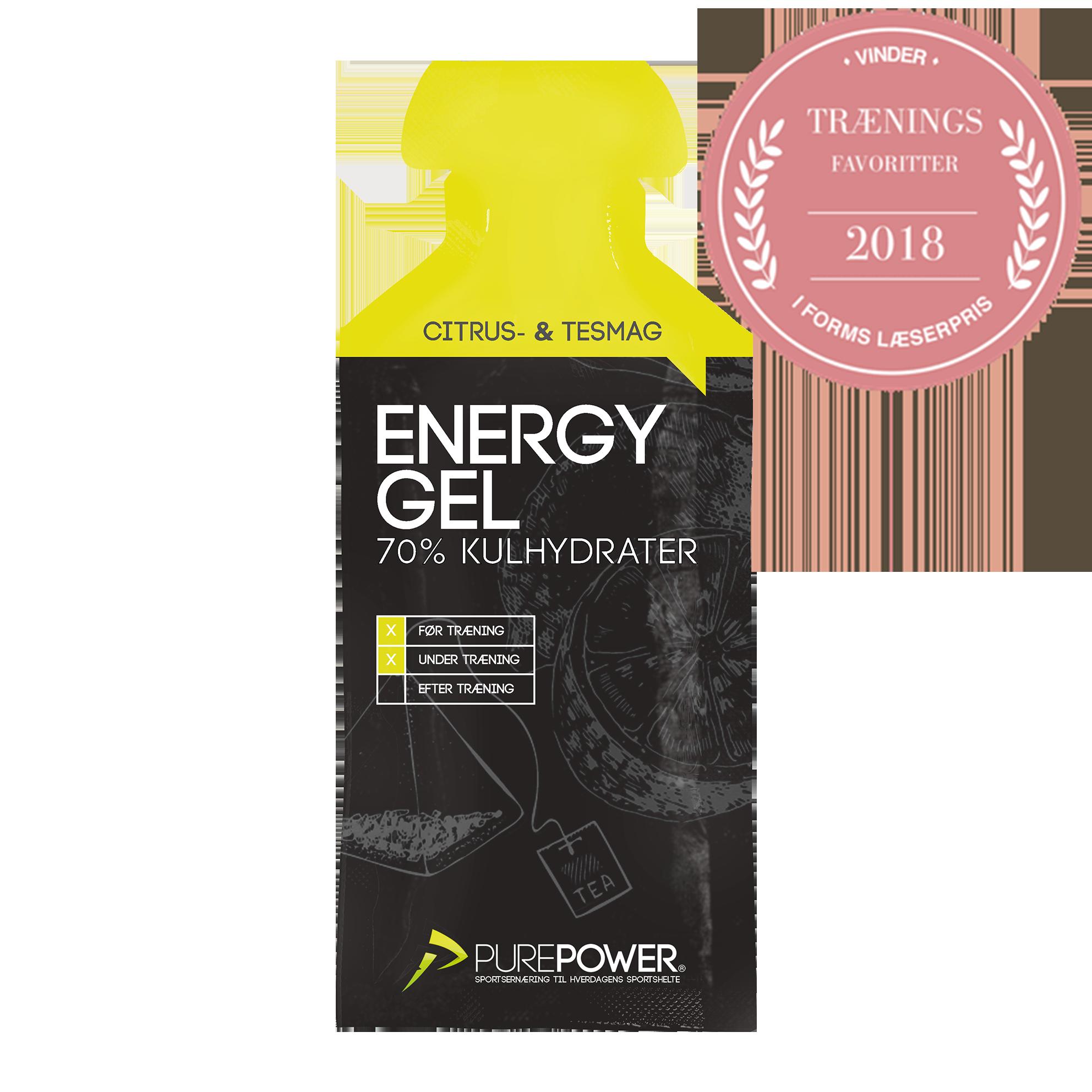 Energy Gel Citrus-Te stk   Energy gels
