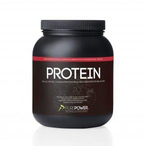 havregryn med proteinpulver