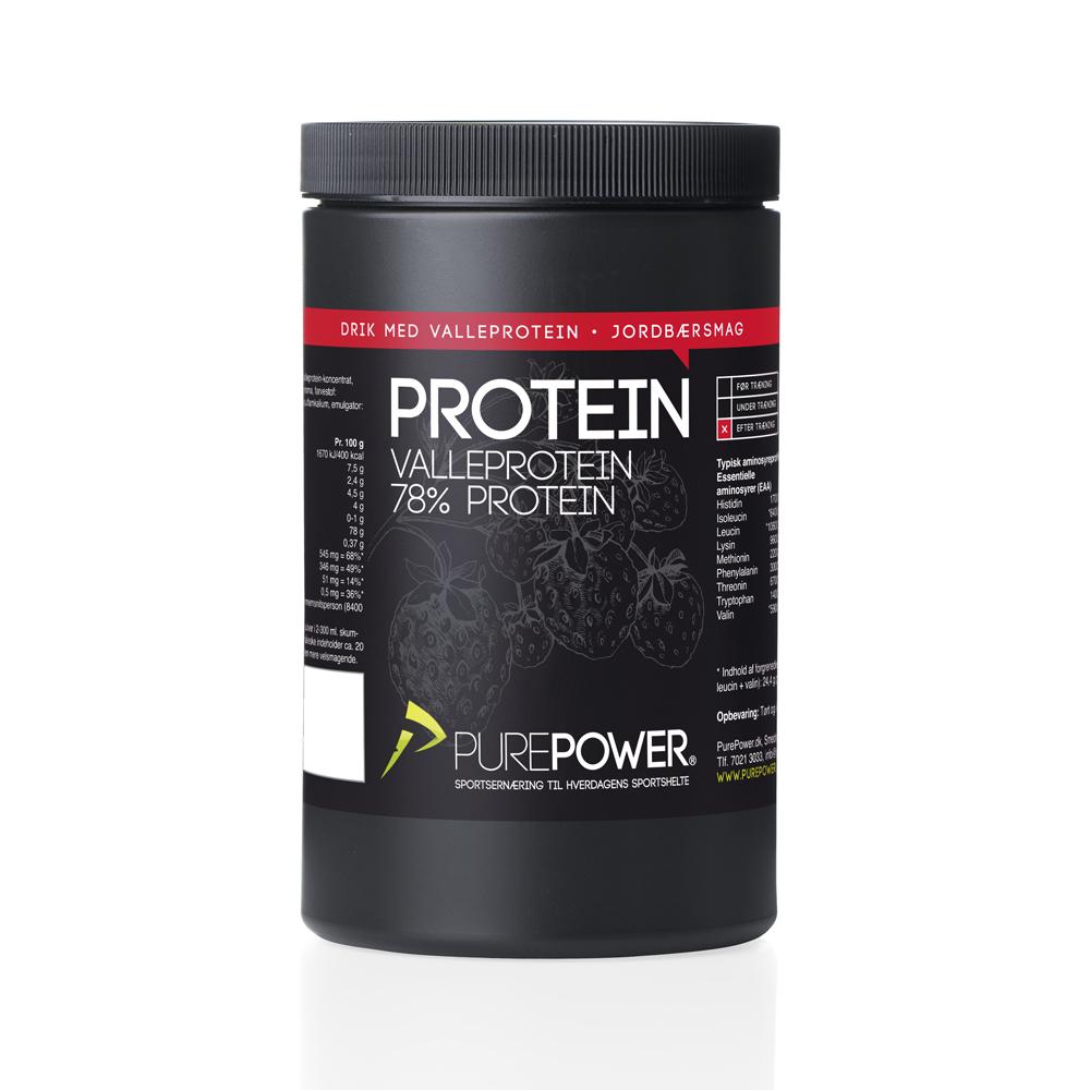 Valleprotein Jordbær 325g