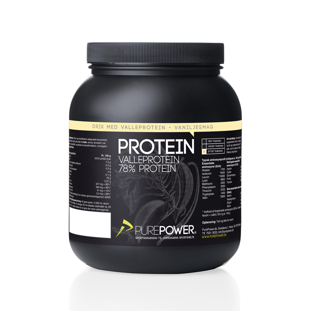 Valleprotein Vanilje 1kg