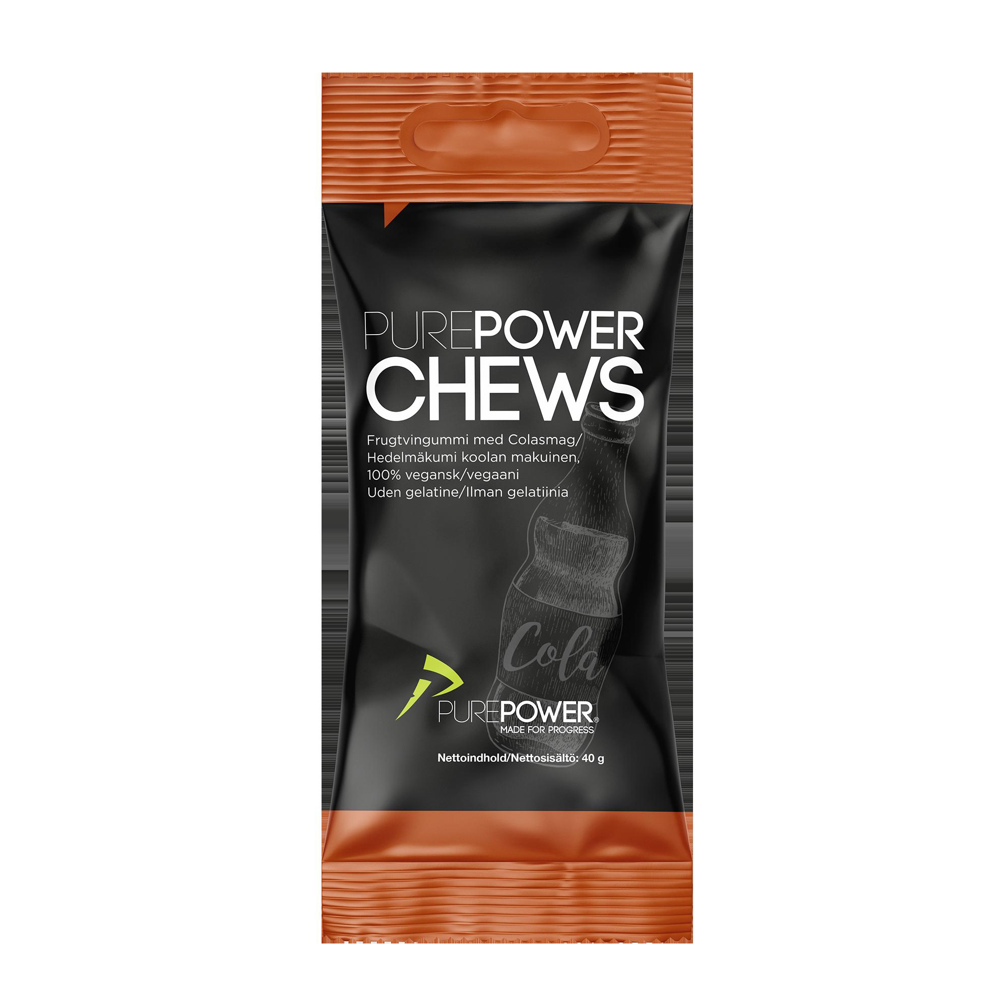PurePower Cola Chews stk.