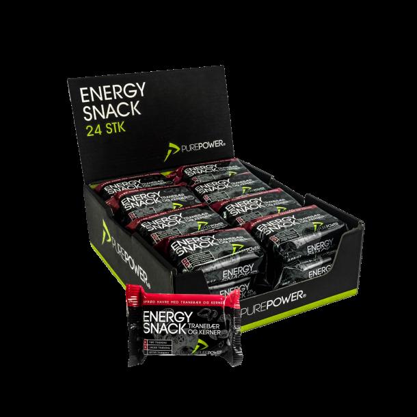 Energy Snack Tranebær & Kerner 24 stk