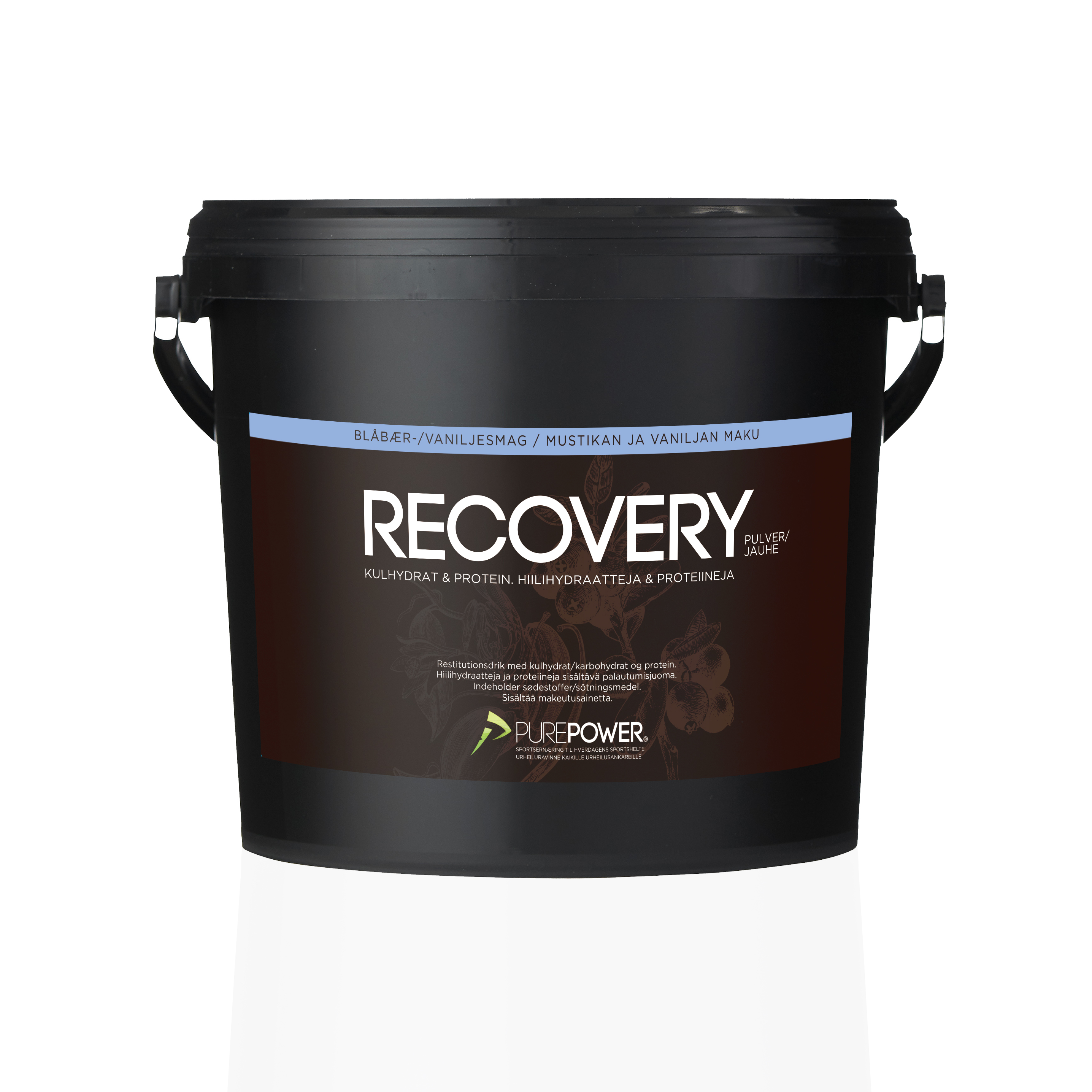 Recovery Vanilje Blåbær 3 kg