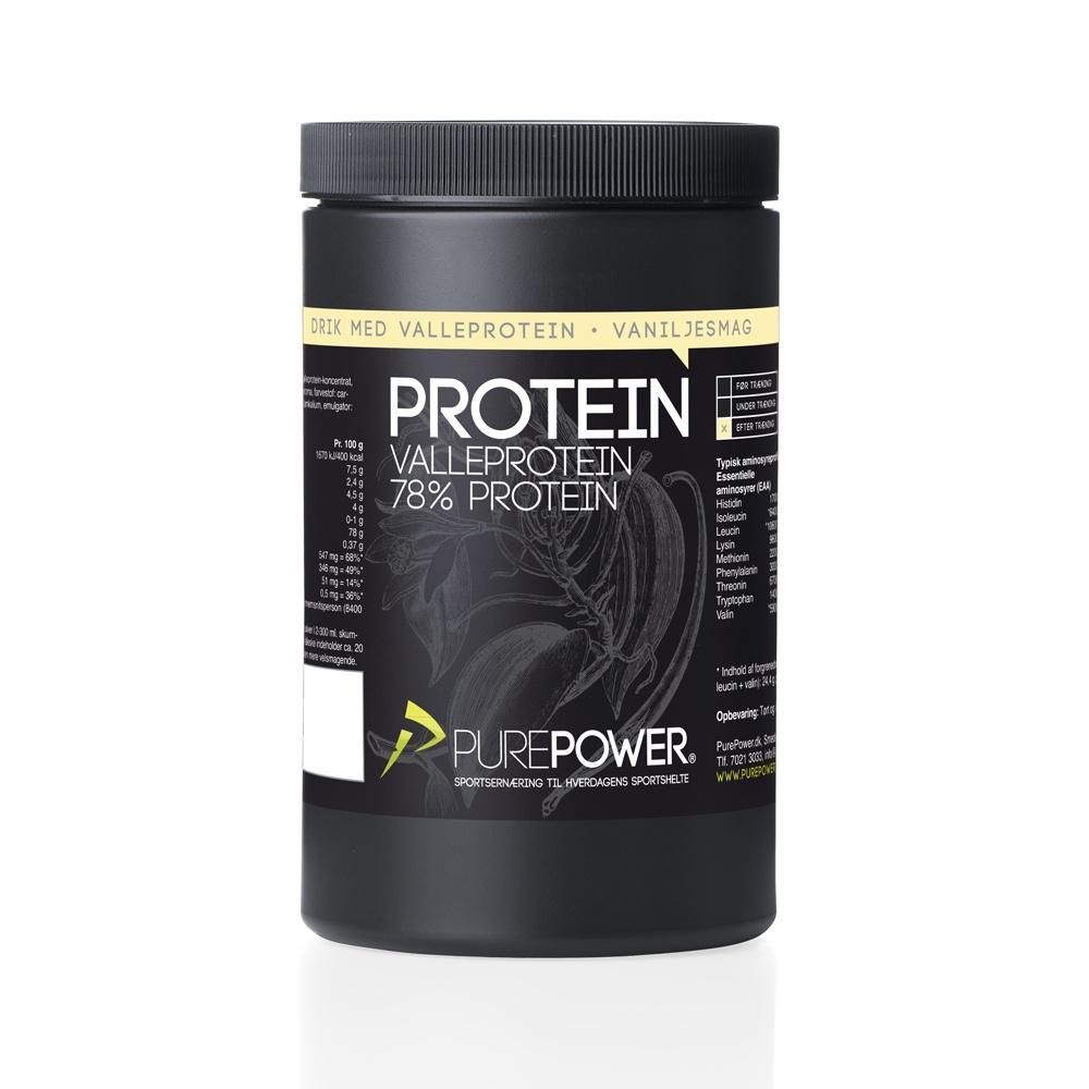 Valleprotein Vanilje 325g