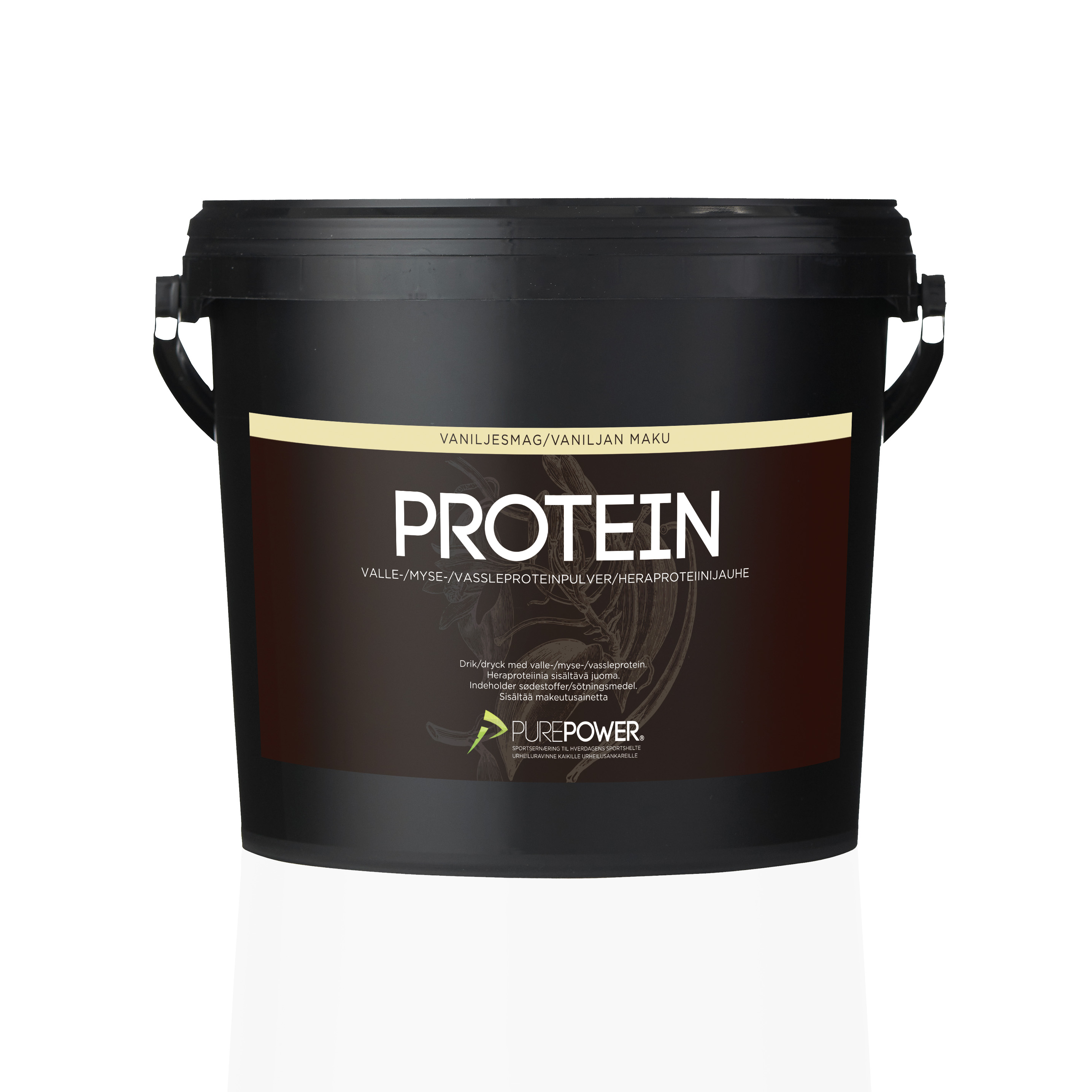 Valleprotein Vanilje 3kg