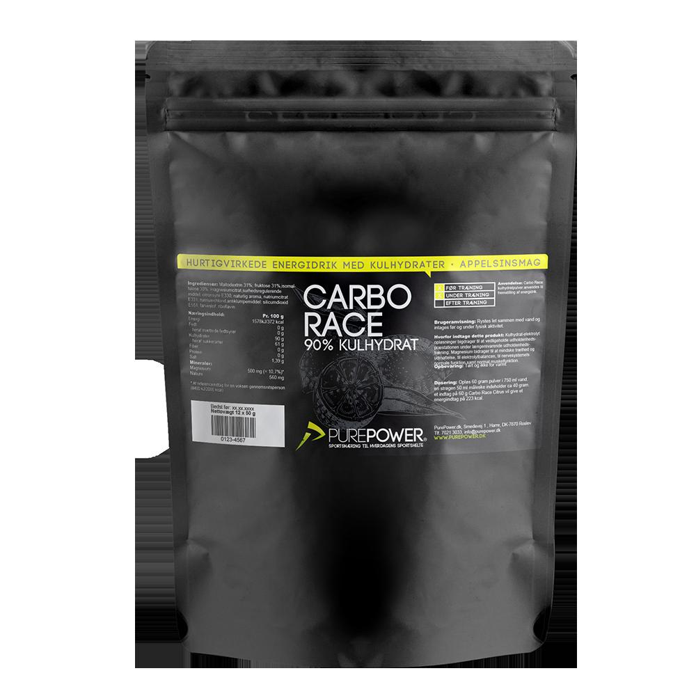 Carbo Race Citrus 12 x 50g