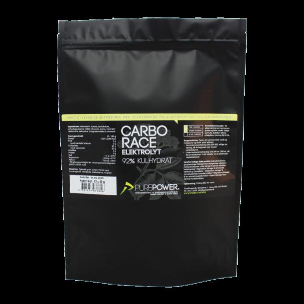 Carbo Race Elektrolyt Hyldeblomst 12 x 50 g